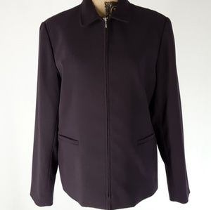 Style & Co. | Straight Line Bomber Jacket (16)